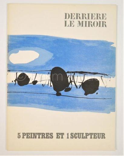 DERRIERE LE MIROIR - N° 150 - 5 PEINTRES ET 1 SCULPTEUR - SIGNÉ