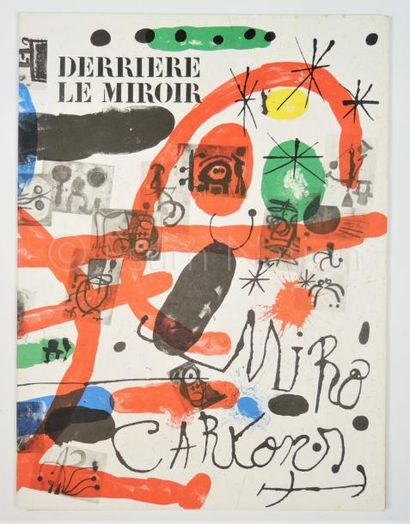 DERRIERE LE MIROIR - N° 151- 152 - MIRO - 1965 - SIGNÉ