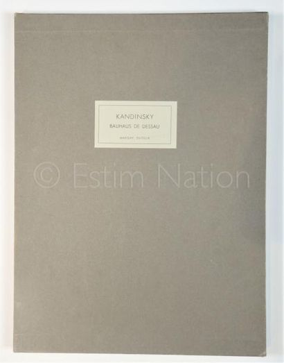 DERRIERE LE MIROIR   N° 154 - EDITION DE LUXE - KANDINSKY - 1965