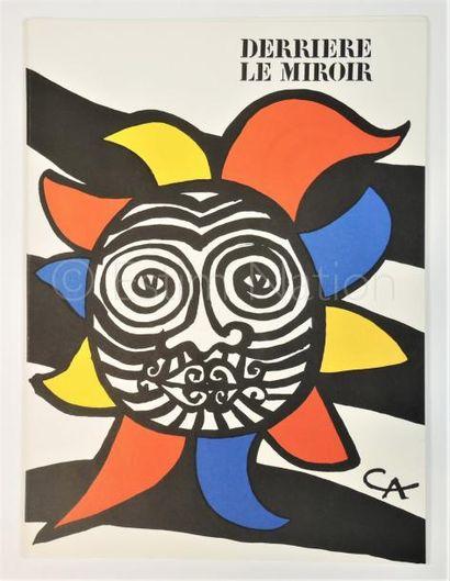 DERRIERE LE MIROIR N° 156 - CALDER - 1966