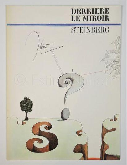 DERRIERE LE MIROIR-  N° 157-  STEINBERG -1966