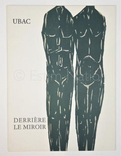 DERRIERE LE MIROIR  N° 161 - UBAC - 1966