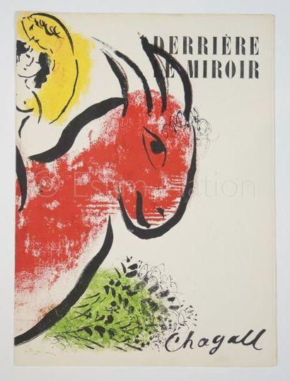 DERRIERE LE MIROIR N° 44 - 45 - CHAGALL - 1952