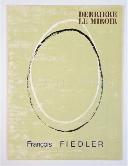 DERRIERE LE MIROIR - N° 167 - FIEDLER - 1966