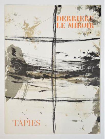 DERRIERE LE MIROIR - N° 168 - TAPIES - 1967