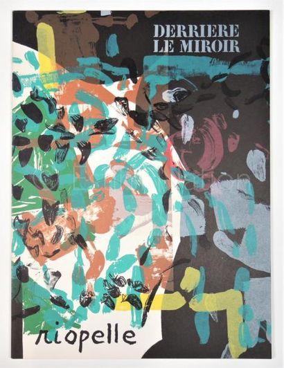 DERRIERE LE MIROIR - N° 171 - RIOPELLE - 1968