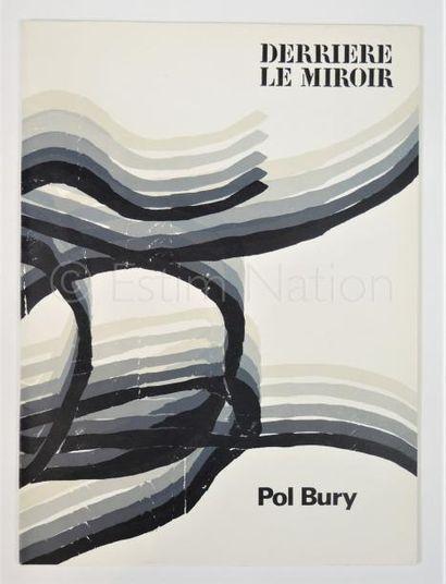 DERRIERE LE MIROIR  N° 178 - POL BURY - 1969