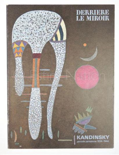 DERRIERE LE MIROIR - N°179 -  KANDINSKY - 1969