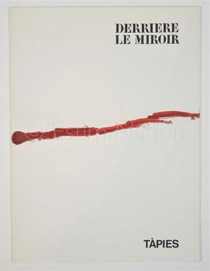 DERRIERE LE MIROIR - N° 180 - TAPIES - 1969