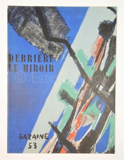 DERRIERE LE MIROIR N° 55-56 -  BAZAINE - 1953