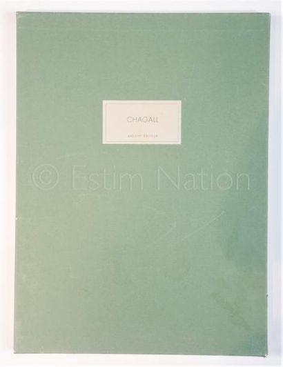 DERRIERE LE MIROIR - N° 182 - EDITION DE LUXE - CHAGALL - 1969