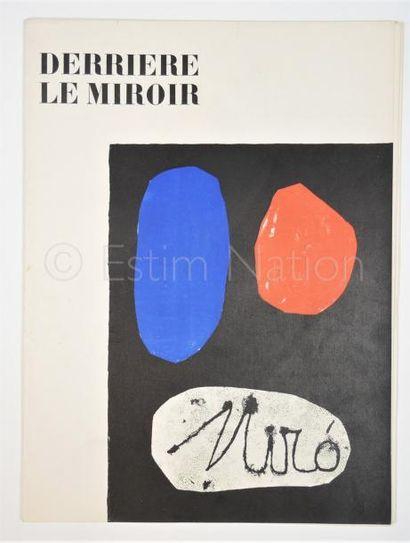 DERRIERE LE MIROIR N° 57- 58 - 59 - MIRO - 1953