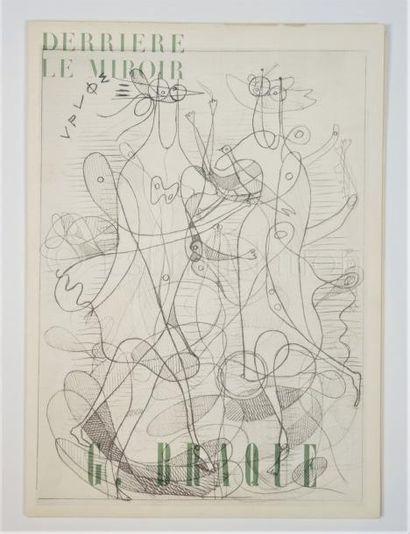 DERRIERE LE MIROIR-N° 71- 72- BRAQUE - 1954-1955