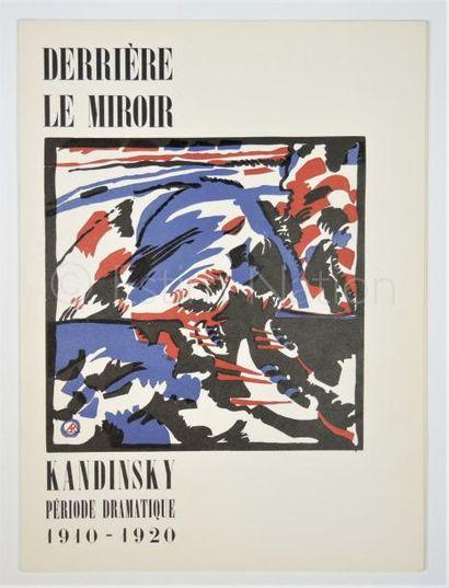 DERRIERE LE MIROIR N° 77-78 -  KANDINSKY - 1955