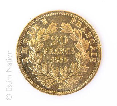 20 FRANCS OR - 1855