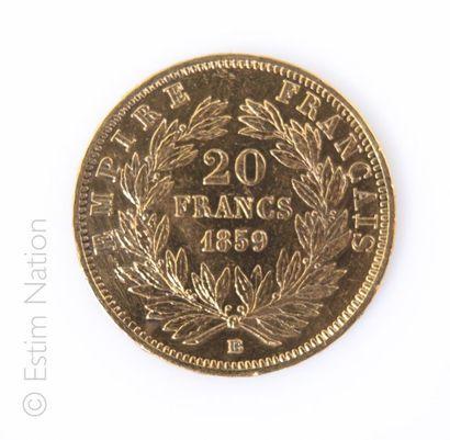 20 FRANCS OR - 1859