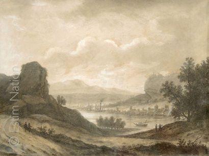 Ecole française fin XVIIIème siècle