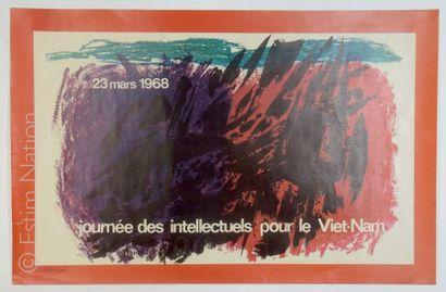 AFFICHES - GUERRE DU VIETNAM - 1968