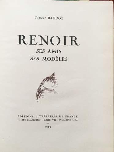 Pierre-Auguste RENOIR (1841-1919) Portrait of Jeanne Baudot-1896 Oil on canvas 24...