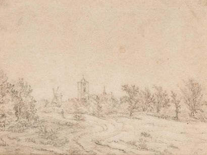 Ecole HOLLANDAISE du XVIIème siècle, entourage de Jan van KESSEL