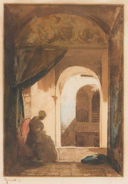 François Marius GRANET (Aix en Provence 1775 - 1849)