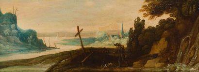 École FLAMANDE vers 1640