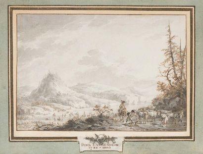 Dirk LANGENDIJK (Rotterdam 1748 - 1805)