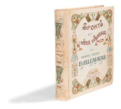 D'ALLEMAGNE (Henry-René) :  Sports et Jeux...