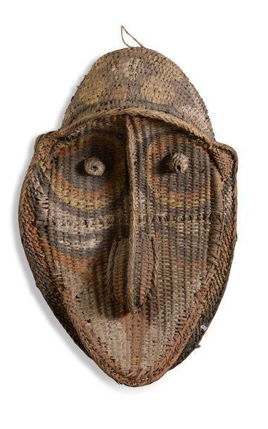 Masque de pignon de Maison des Hommes en...