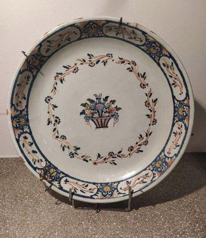 ROUEN, début XIXe siècle  Coupe circulaire...