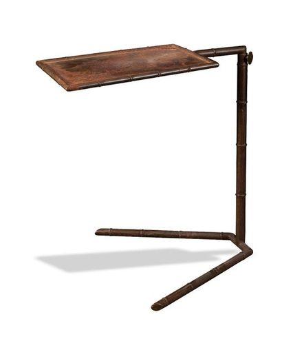 Table de lecture d'appoint articulé en métal...