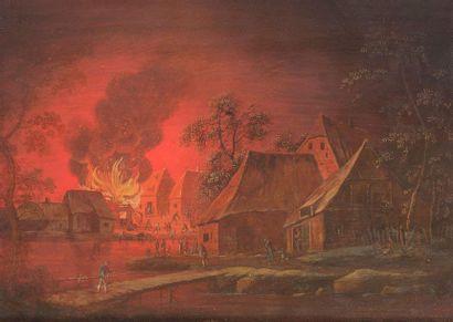 Ecole FLAMANDE de la fin du XVIIIème siècle