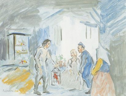 Rostislas LOUKINE (1904-1988)