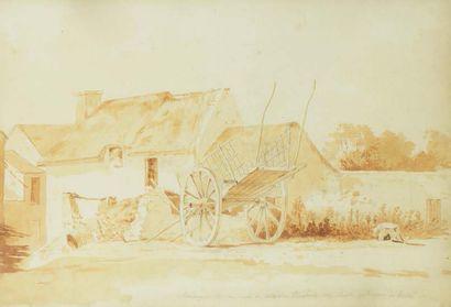 Attribué à Auguste Xavier LEPRINCE (1799 - 1826)