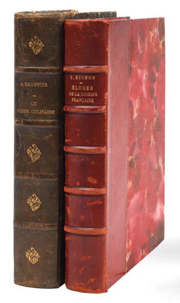 ESCOFFIER (A.) et GILBERT (Ph.)