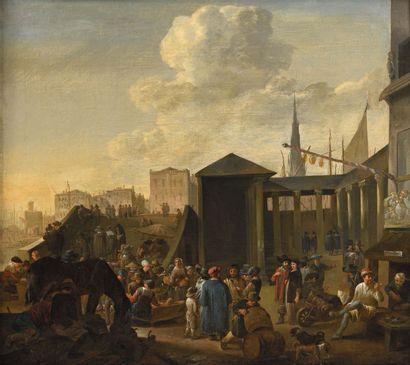 Attribué à Mattheus van HELMONT (1623 - après 1679)