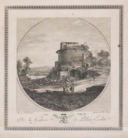 Ecole française du XIXème siècle, d'après Bartholomeus BREENBERGH (1598 - 1657)