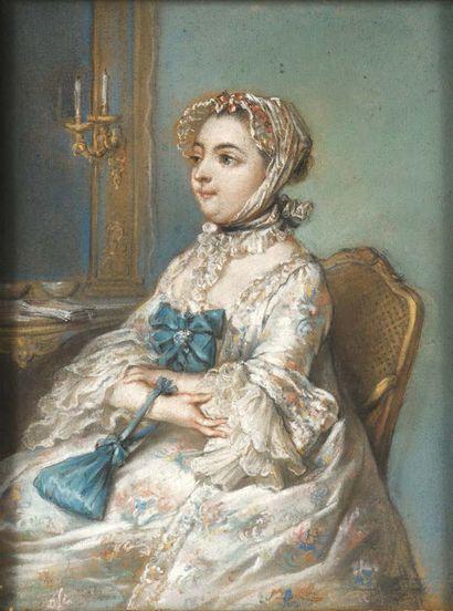Dans le goût de Jean-Etienne LIOTARD (1702-1789)