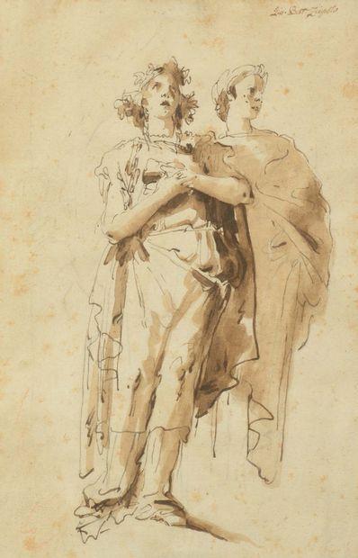 Giandomenico TIEPOLO (Venise 1727 - 1804)