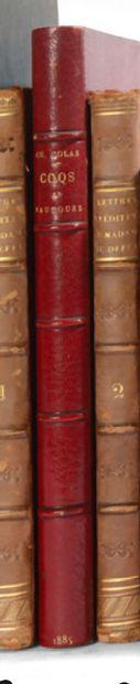 Coqs et vautours. Auguste Ghio, 1885. In-8,...