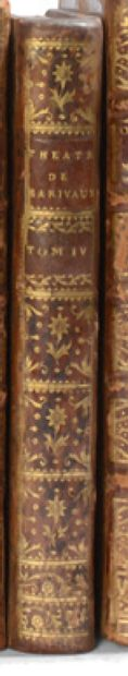 MARIVAUX. Theatre. 1758. 5 volumes. - The Comedies. 1732. 2 volumes. Together 7 volumes,...