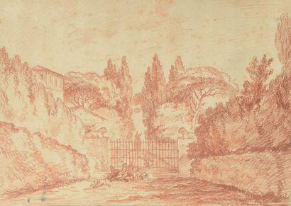 Ecole FRANCAISE du XVIIIème siècle, entourage de Jean - Simon BERTHELEMY