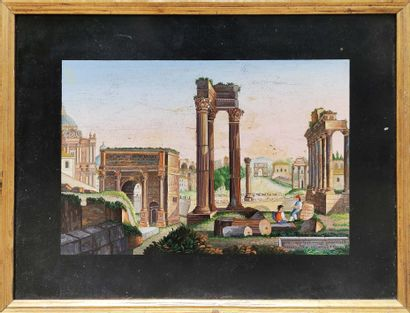 Ecole Italienne. Fin XVIIIème, début du XIXème siècle