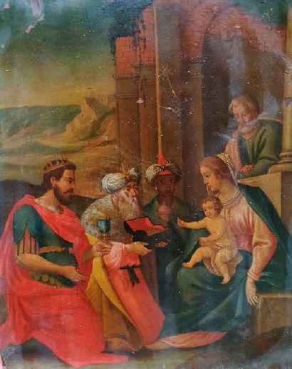 ECOLE ITALIENNE DU XVIIème SIECLE