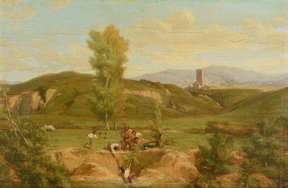 ECOLE FRANCAISE vers 1840.