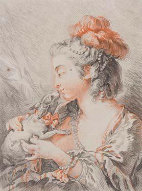 Dans le goût de l'école française du XVIIIème siècle.