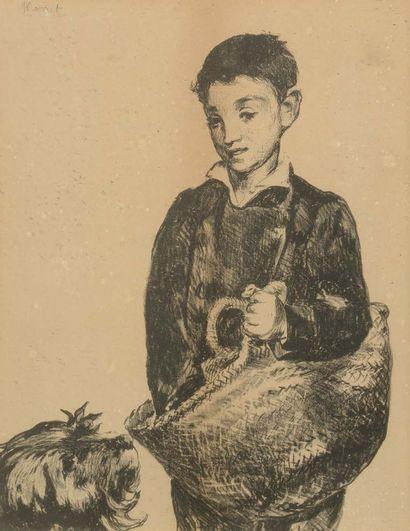 D'après Edouard MANET (1832-1883)
