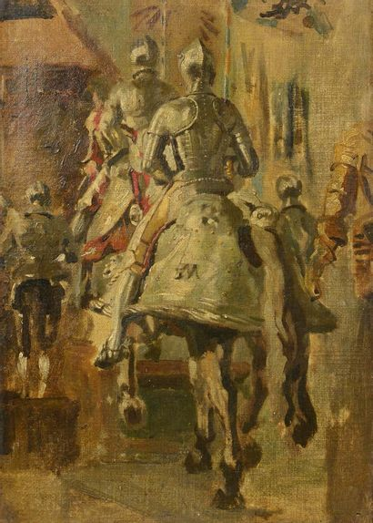 Ernest MEISSONNIER (Lyon 1815 -Paris 1891)