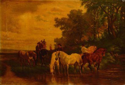 Charles COUMONT (Verviers 1822 - Bruxelles 1889)