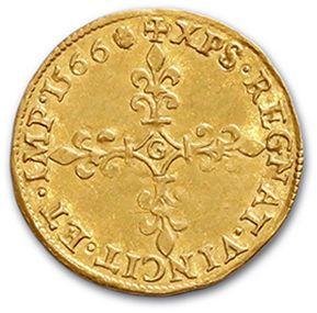 CHARLES IX (1560-1574) Écu d'or au soleil. 1566. 3,36 g. D. 1057. Presque super...
